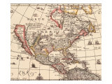 Island of California 1666 Giclee Print