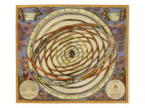 Ptolemaic Universe, 1668 Giclee Print