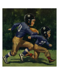 Young Football Players, 1939 Giclee Print