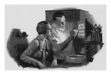 Dentist and Patient, 1934 Giclee Print