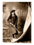 Annie Oakley, 1898 Giclee Print