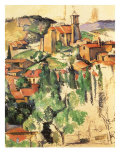 Village of Gardanne, 1885 Giclee Print by Paul Cezanne