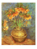 Copper Vase with Flowers, 1887 Giclee Print by Vincent van Gogh