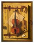Still Life—Violin and Music, 1888 Giclee Print