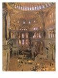 Sketch of Santa Sophia, 1891 Giclee Print by John Singer Sargent