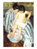 The Bath, 1891 Giclee Print by Mary Cassatt