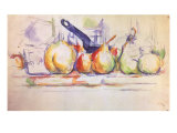 Still Life with Saucepan, 1902 Giclee Print by Paul Cézanne