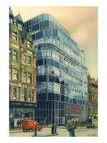 Fleet Street. London, 1936 Giclee Print