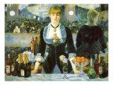 Bar at the Folies-Bergère, 1881 Giclee Print