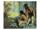 Taos Turkey Hunters, 1915 Giclee Print by Eanger Irving Couse