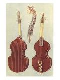 Viola Da Gamba, 1888 Giclee Print by William Gibb