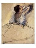 La ballerina,1874 Stampa giclée di Edgar Degas