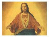 Sacred Heart of Jesus, 1965 Giclee Print