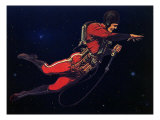 Sci Fi - Gravitron Jet Pack, 1928 Giclee Print by Frank R. Paul