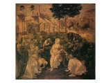 Adoration of the Magi, 1481 Giclee Print by  Leonardo da Vinci