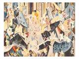 Rhapsody in Blue, 1928 Giclee Print by Earl Horter