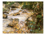 Trout Stream in the Tyrol, 1914 Giclee Print by John Singer Sargent