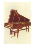 Empress Harpsichord, 1888 Giclee Print by William Gibb