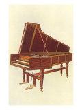 Empress Harpsichord, 1888 Giclee Print by William Gibb