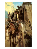The Admirable Outlaw, 1906 Giclee Print by Newell Convers Wyeth