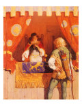 Robin Meets Maid Marion, 1917 Giclee Print by Newell Convers Wyeth