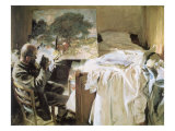 Artist in His Studio, 1903 Giclee Print by John Singer Sargent