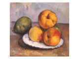 Still Life with Quince, Apples, and Pears, 1886 Giclee Print by Paul Cézanne