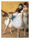 Ballerinas in Repose, 1880 Giclee Print by Edgar Degas