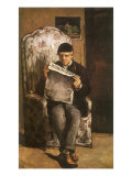 The Artist's Father, 1866 Giclee Print by Paul Cézanne