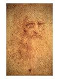 Self-Portrait, 1512 Giclee Print by  Leonardo da Vinci