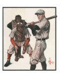 Baseball, 1915 Giclee Print by Joseph Christian Leyendecker