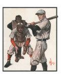 Baseball, 1915 Giclee Print by Joseph Christian Leyendecker