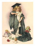 Playing Graduate, 1902 Giclee Print by Maud Humphrey