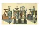 Steam Engine Giclee Print