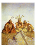 Nothing Would Escape, 1911 Giclee Print by Newell Convers Wyeth