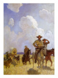 The Parkman Outfit, 1925 Giclee Print by Newell Convers Wyeth