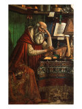 Saint Jerome, 1480 Giclee Print by Domenico Ghirlandaio