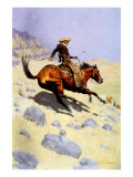 The Cowboy, 1902 Giclee Print by Frederic Sackrider Remington