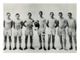 Basketball Team, 1903 Giclee Print