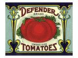 Ripe Tomato Label Giclee Print