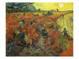 The Red Vineyard at Arles, 1888 Giclee Print by Vincent van Gogh