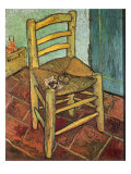 Van Gogh's Chair and Pipe, 1888 Giclee Print by Vincent van Gogh