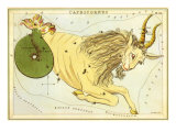 Capricorn, the Goat Giclee Print