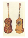 Rizzio Guitar, 1888 Giclee Print by William Gibb