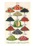 Tiers of Fruit Giclee Print