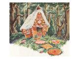 Gingerbread House, 1948 Giclee Print