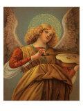 Angel Plays Violin, 1465 Giclee Print
