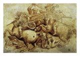 The Battle of Anghiari, 1500 Giclée-Druck von  Leonardo da Vinci