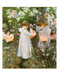 Chinese Lanterns, Girls, 1885 Giclee Print by John Singer Sargent