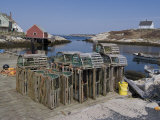 Peggy's Cove, Nova Scotia, Canada, North America Photographic Print by Ethel Davies